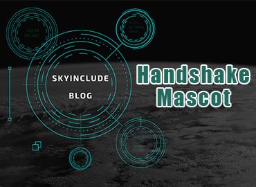 handshake-mascot
